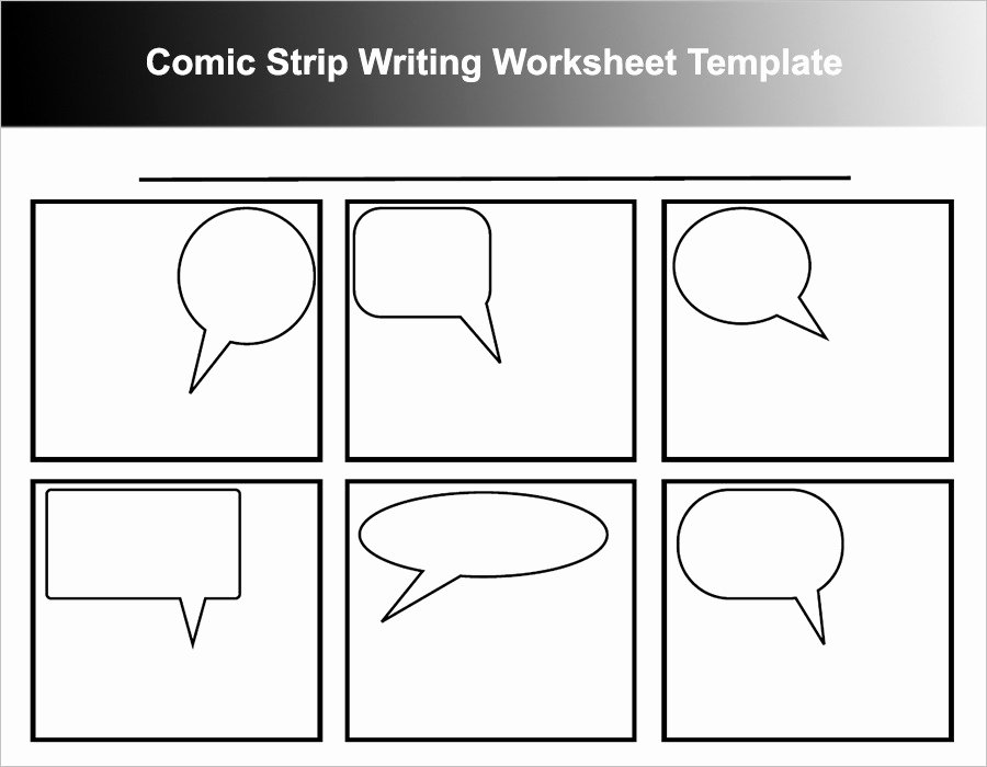 Comic Book Template Pdf Lovely Ic Strip Template