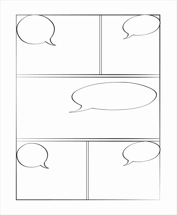 Comic Book Template Pdf Luxury 10 Book Templates Free Sample Example format