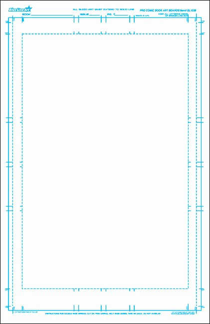 Comic Book Template Photoshop Lovely are Bleeds and Margins Still Relevant to Online Ics