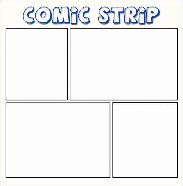 Comic Strip Template Pdf Beautiful 7 Ic Strip Samples