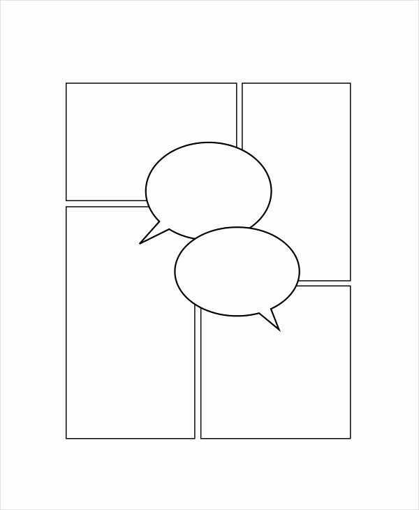 Comic Strip Template Pdf Best Of Ic Strip Template 7 Free Pdf Psd Documents Download