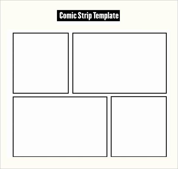 Comic Strip Template Pdf Elegant 7 Ic Strip Samples