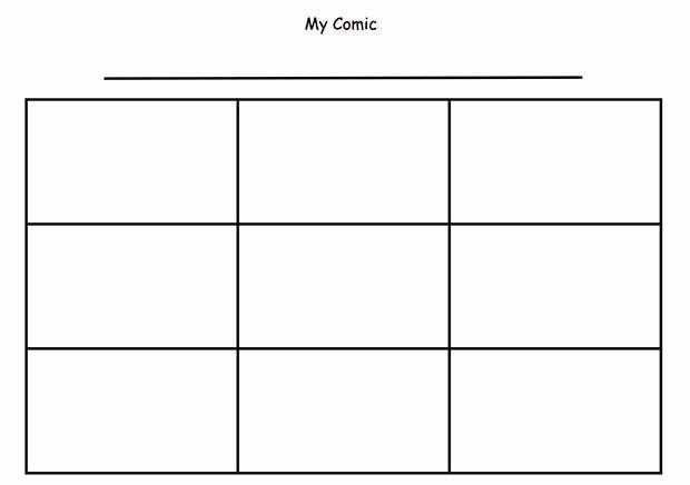 Comic Strip Template Pdf Elegant Cartoon Ic Strip Template