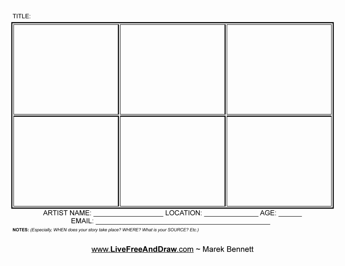 Comic Strip Template Pdf Elegant Get Involved – Live Free and Draw