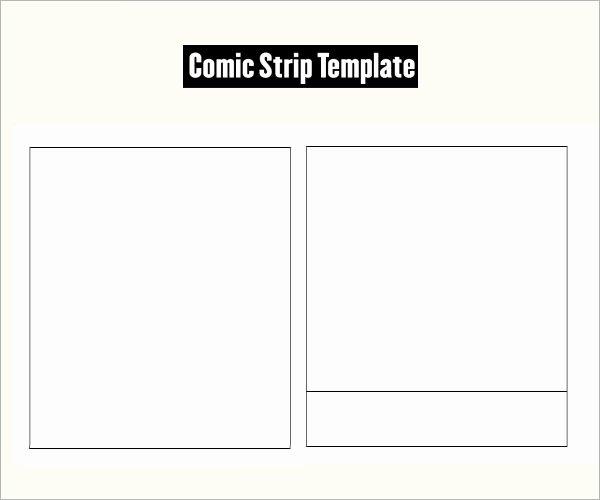 Comic Strip Template Pdf Fresh Ic Strip Template 7 Free Pdf Download