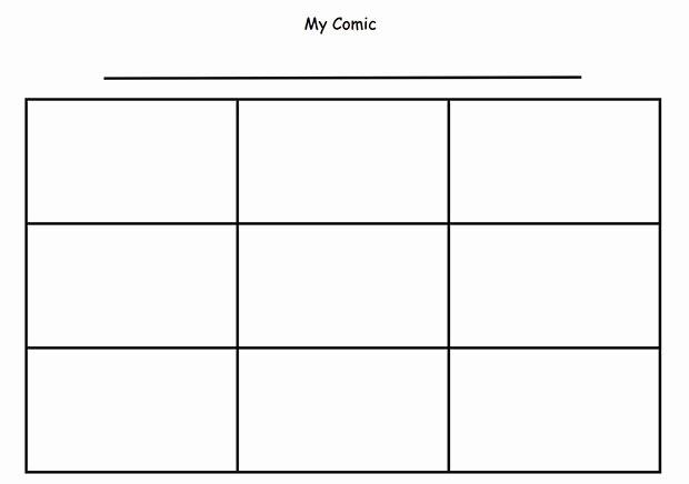 Comic Strip Template Pdf Inspirational Ic Strip Template Beepmunk