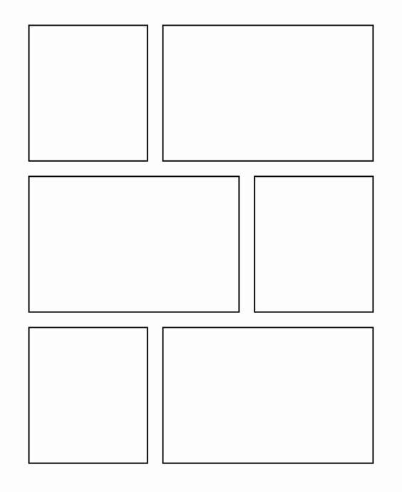 Comic Strip Template Pdf New Ic Template Ic Template