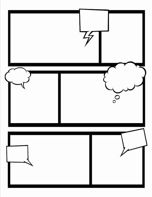 Comic Strip Template Word Awesome Best 25 Create Your Own Ic Ideas On Pinterest