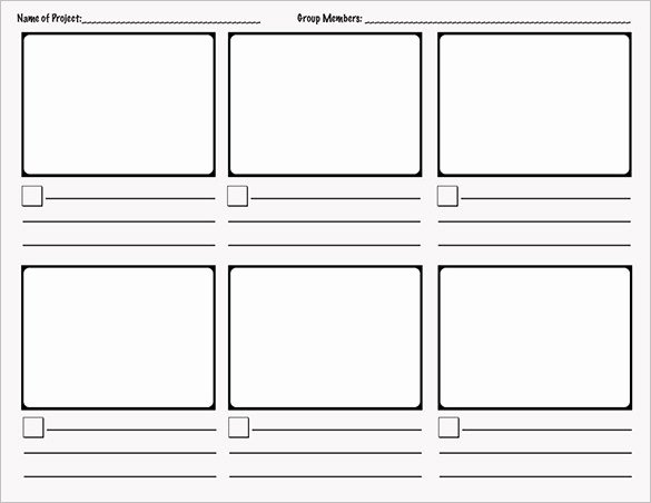 Comic Strip Template Word Beautiful 9 Ic Storyboard Templates Doc Pdf