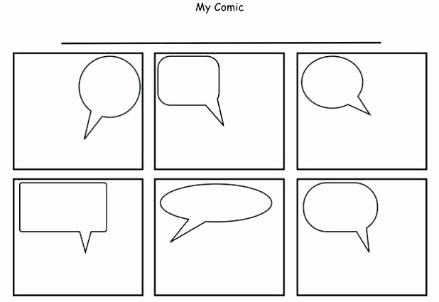 Comic Strip Template Word Beautiful Free Ic Strip Template – Lccorp