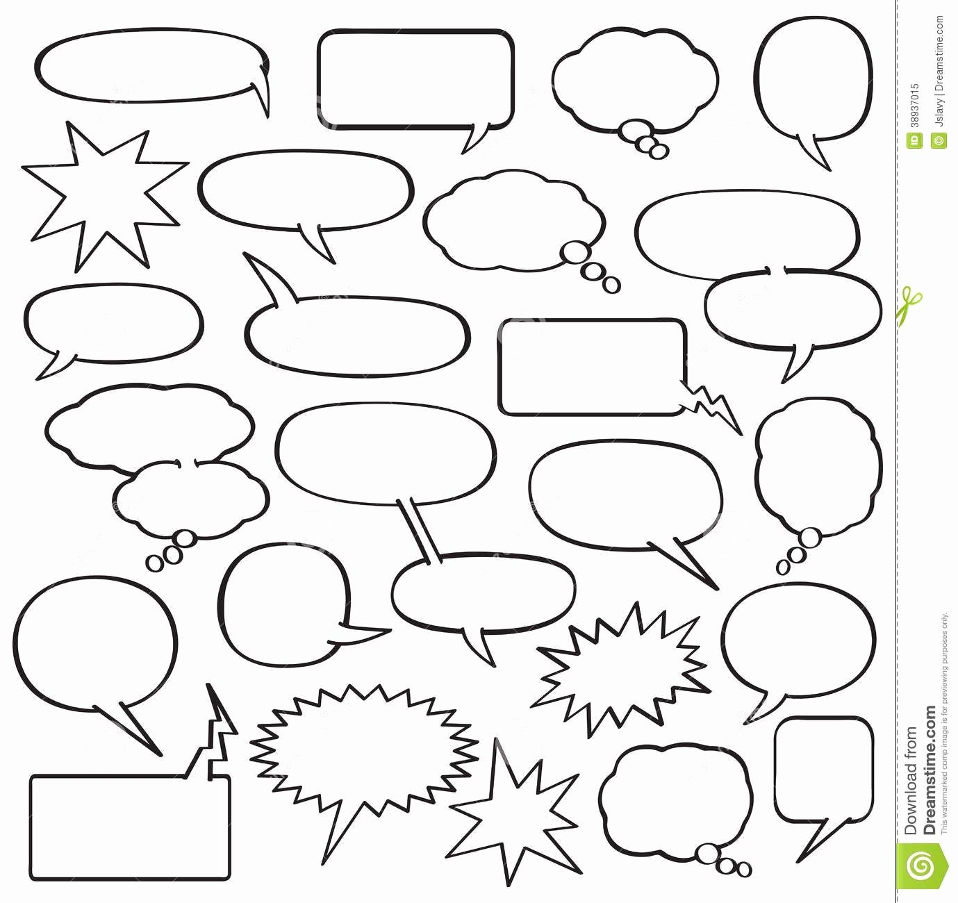 Comic Strip Template Word Best Of Blank Ic Strip Speech Bubbles Template School