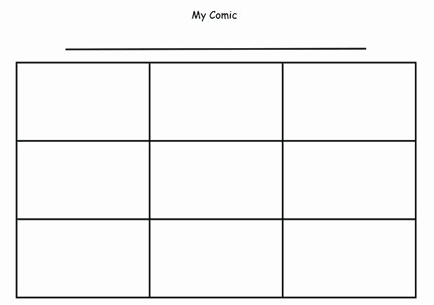 Comic Strip Template Word Elegant Ic Strip Coloring Pages – Alex Photo