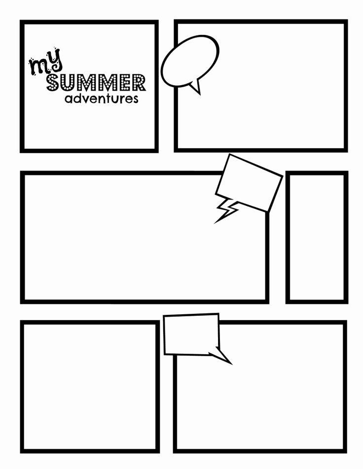 Comic Strip Template Word Fresh Ic Strip Template