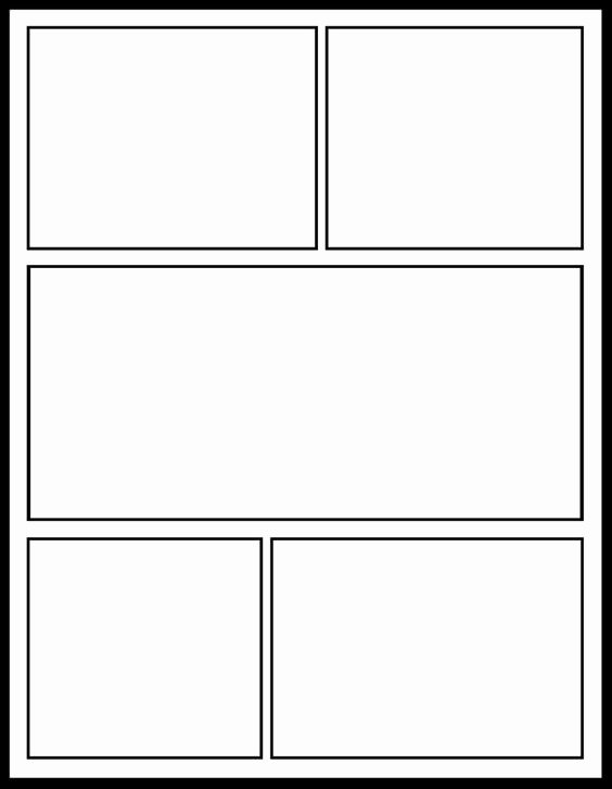 Comic Strip Template Word Fresh Ic Template for My Ics Unit