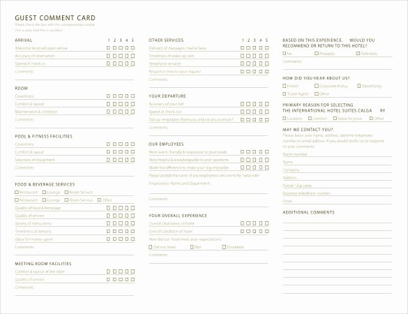 Comment Card Template Word Beautiful Ment Card Template – 27 Free Printable Word Pdf Psd