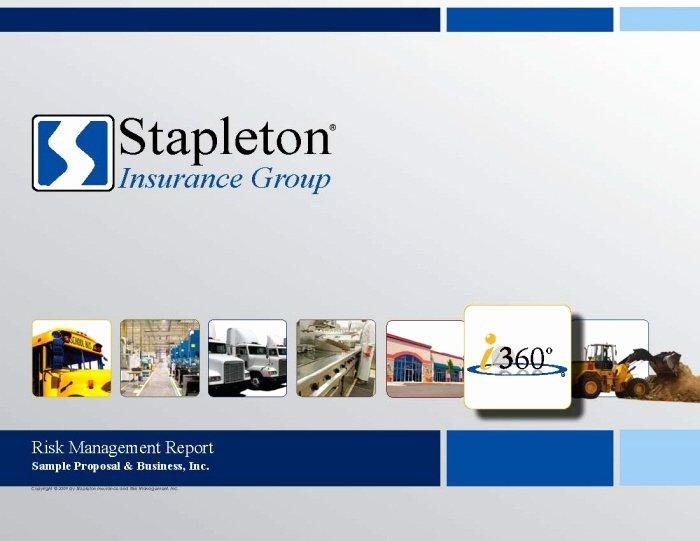 Commercial Insurance Proposal Template Elegant Mercial Insurance Proposal Sample Version by Scott