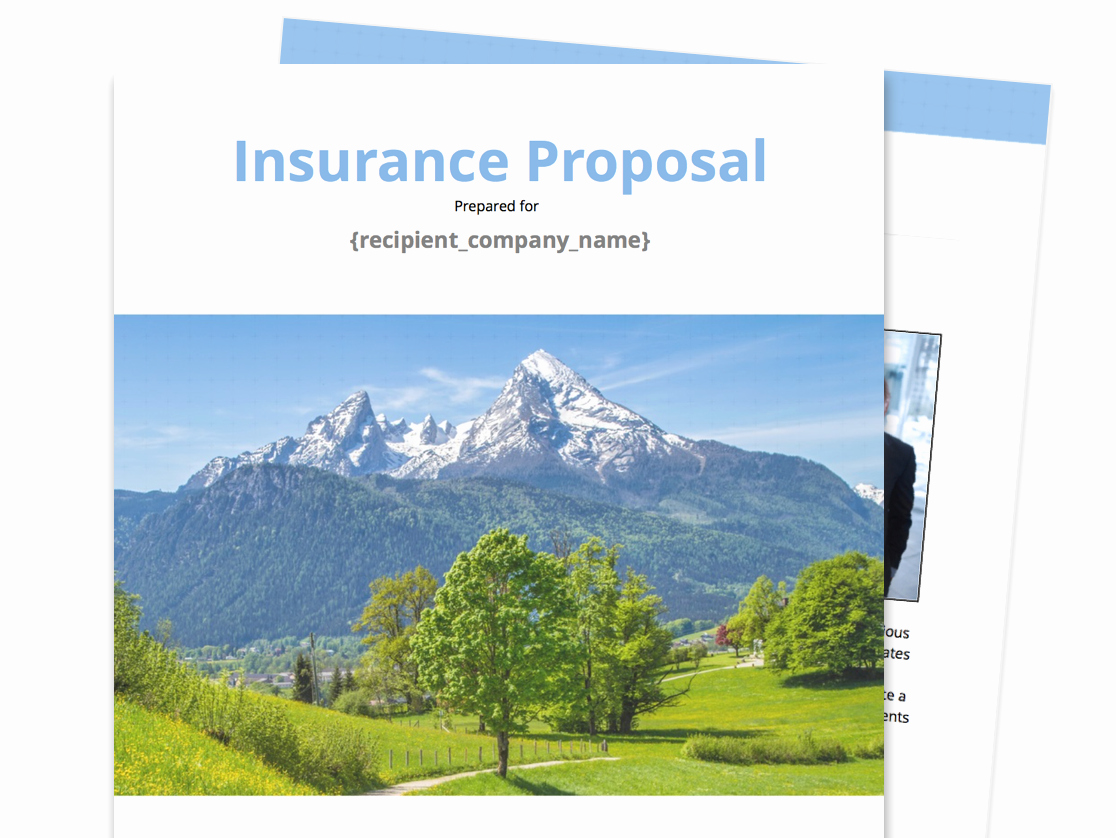 Commercial Insurance Proposal Template Fresh Free Business Proposal Templates