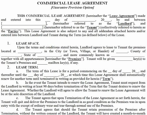 Commercial Lease Application Template Fresh top 5 Resources to Get Mercial Lease Agreement