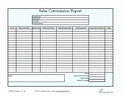 Commission Split Agreement Template Elegant Mission form Template Real Estate Mission Split
