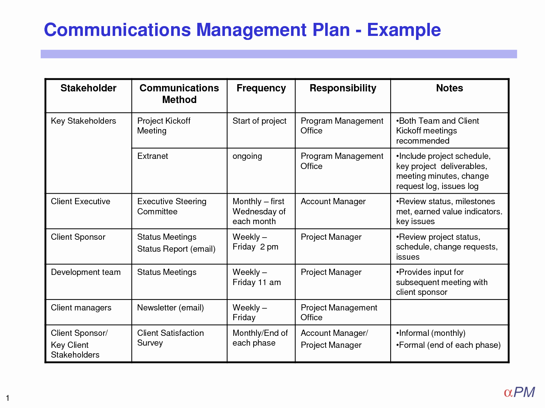 Communications Plan Template Word Best Of Munication Plan Template