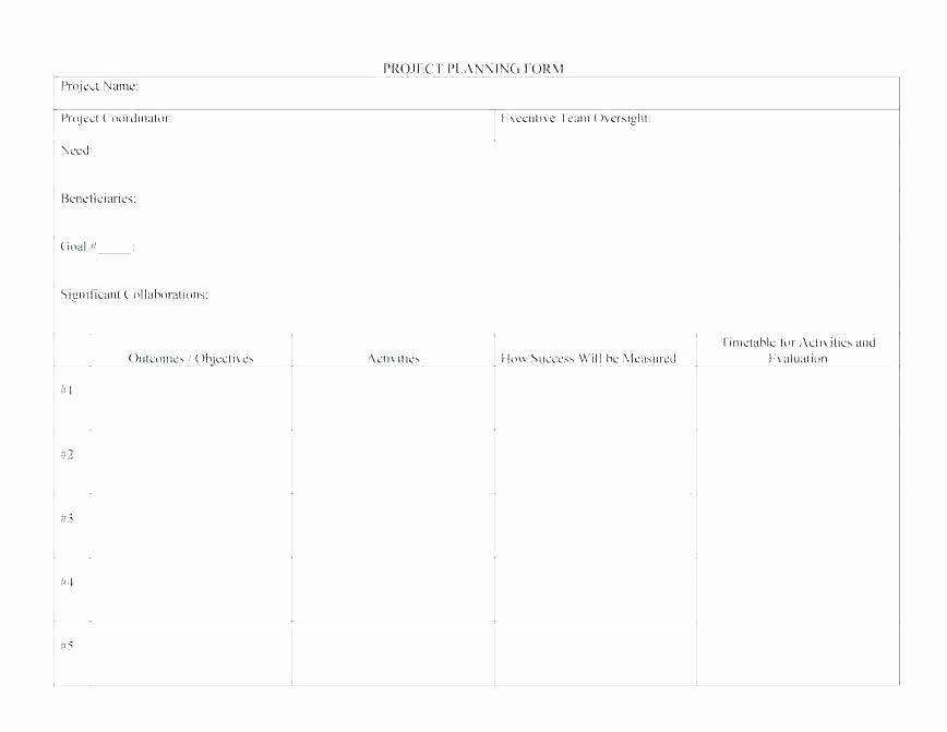 marketing munications plan template