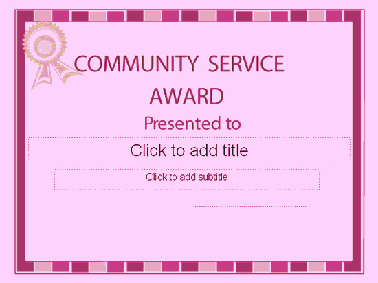 Community Service Certificate Template Awesome Munity Interests Interests Interests Religious