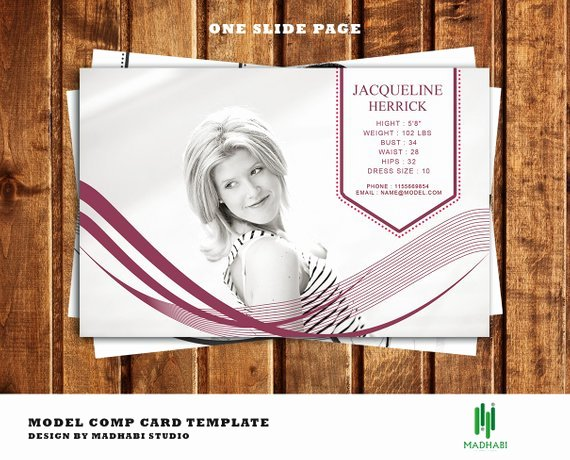 Comp Card Template Free Best Of E Page Modeling P Card Template Model P Card