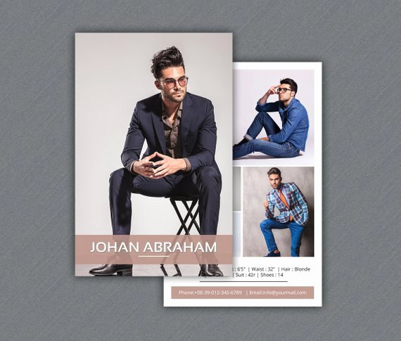 Comp Card Template Free Fresh Model P Card Template Modeling P Card Shop