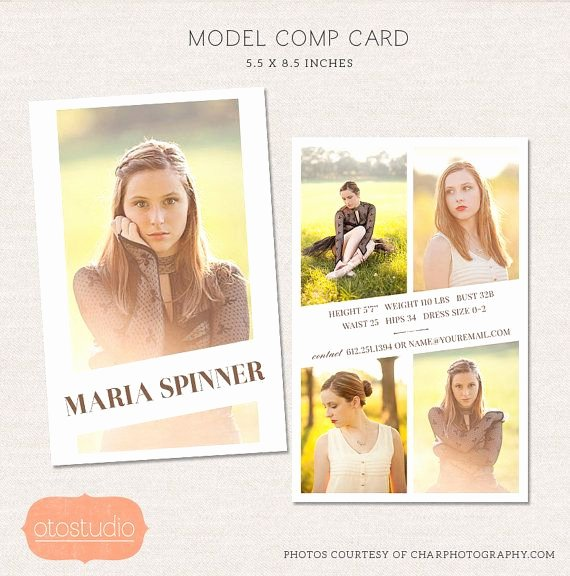 Comp Card Template Free Lovely 17 Best Ideas About Model P Card On Pinterest
