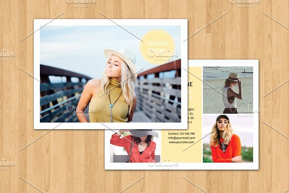 Comp Card Template Photoshop Elegant Model P Card Template V374 Flyer Templates On