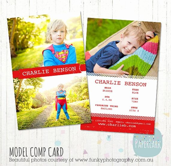 Comp Card Template Photoshop Lovely 17 Best Images About P Cards On Pinterest