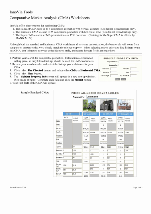 Comparative Market Analysis Template Best Of top 6 Market Analysis Templates Free to In Pdf format