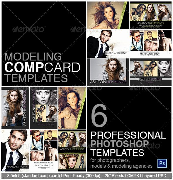 Composite Card Template Free Beautiful Model P Card Shop Template On Behance