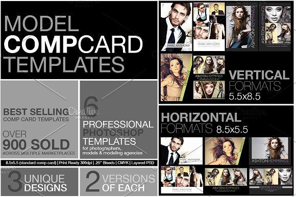 Composite Card Template Free Inspirational Model P Card Kit Flyer Templates Creative Market