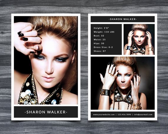 Composite Card Template Free Inspirational Model P Card Template for Shop 001 5 5 X