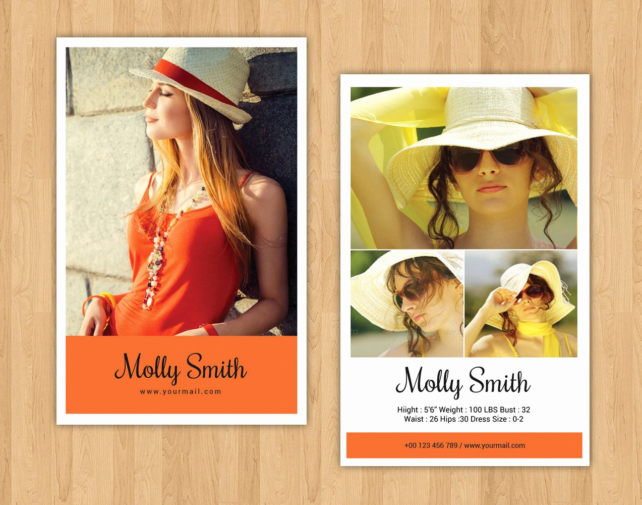 Composite Card Template Free Lovely Modeling P Card Template Model P Card Ms Word