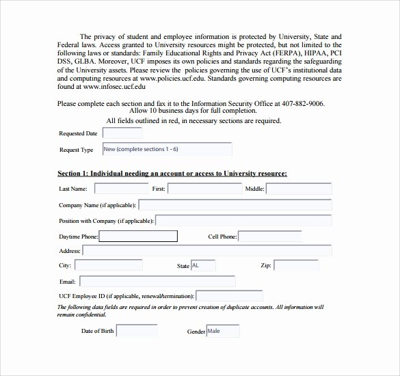 Computer Repair forms Template Beautiful 13 Puter Service Request form Templates to Download