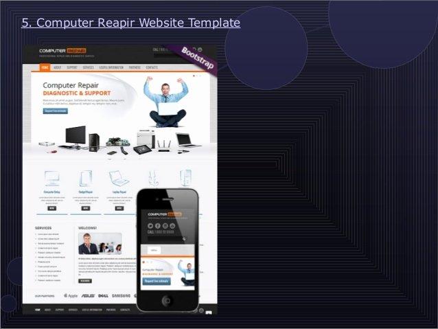 Computer Repair Website Template Fresh 9 attractive Puter Repair Website Templates