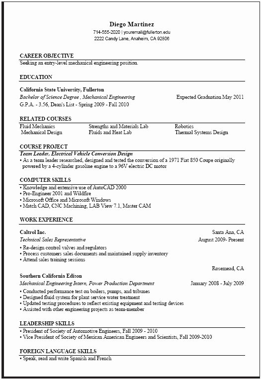 Computer Science Resume Template Unique Puter Science Resume Templates Samplebusinessresume
