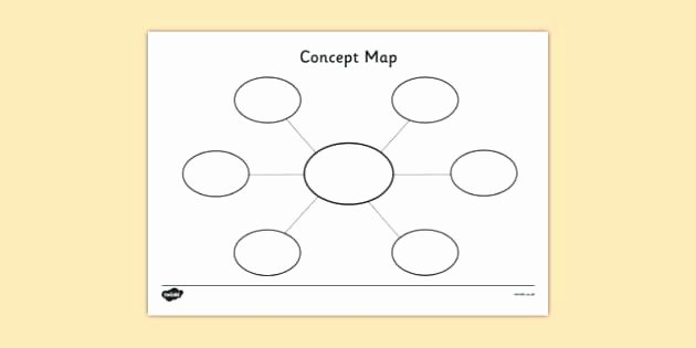 Concept Map Template Powerpoint Best Of Free Editable Mind Map Template