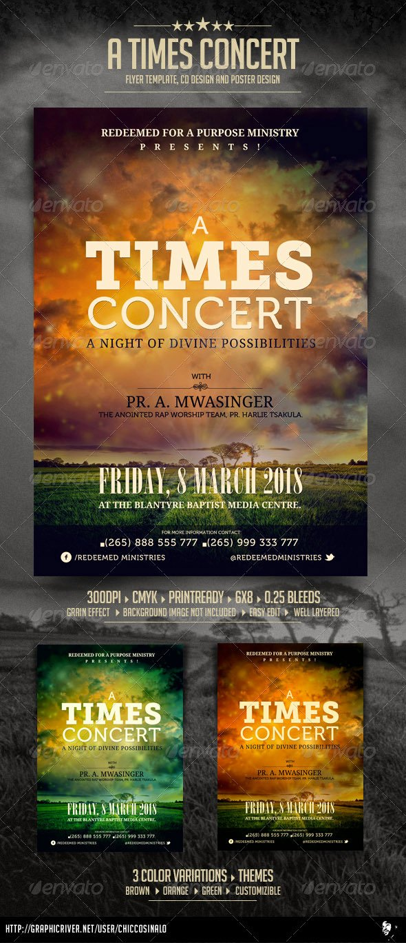 Concert Flyer Template Free Best Of Blank Concert Flyer Template Free Tinkytyler Stock