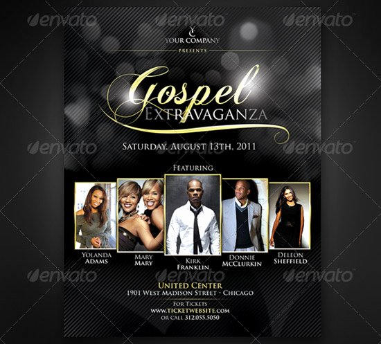 Concert Flyers Template Free Beautiful 160 Free and Premium Psd Flyer Design Templates Print