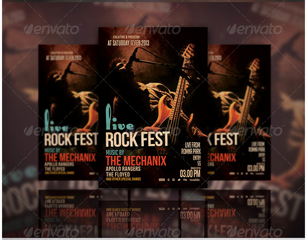 Concert Flyers Template Free Elegant 50 Cool Club Flyers & Party Flyer Templates