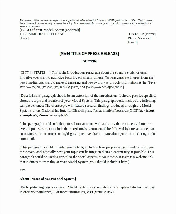 concert press release template of press releases release example new examples of press releases relevant news release example present fresh fashion collection sample press release basics free sample p