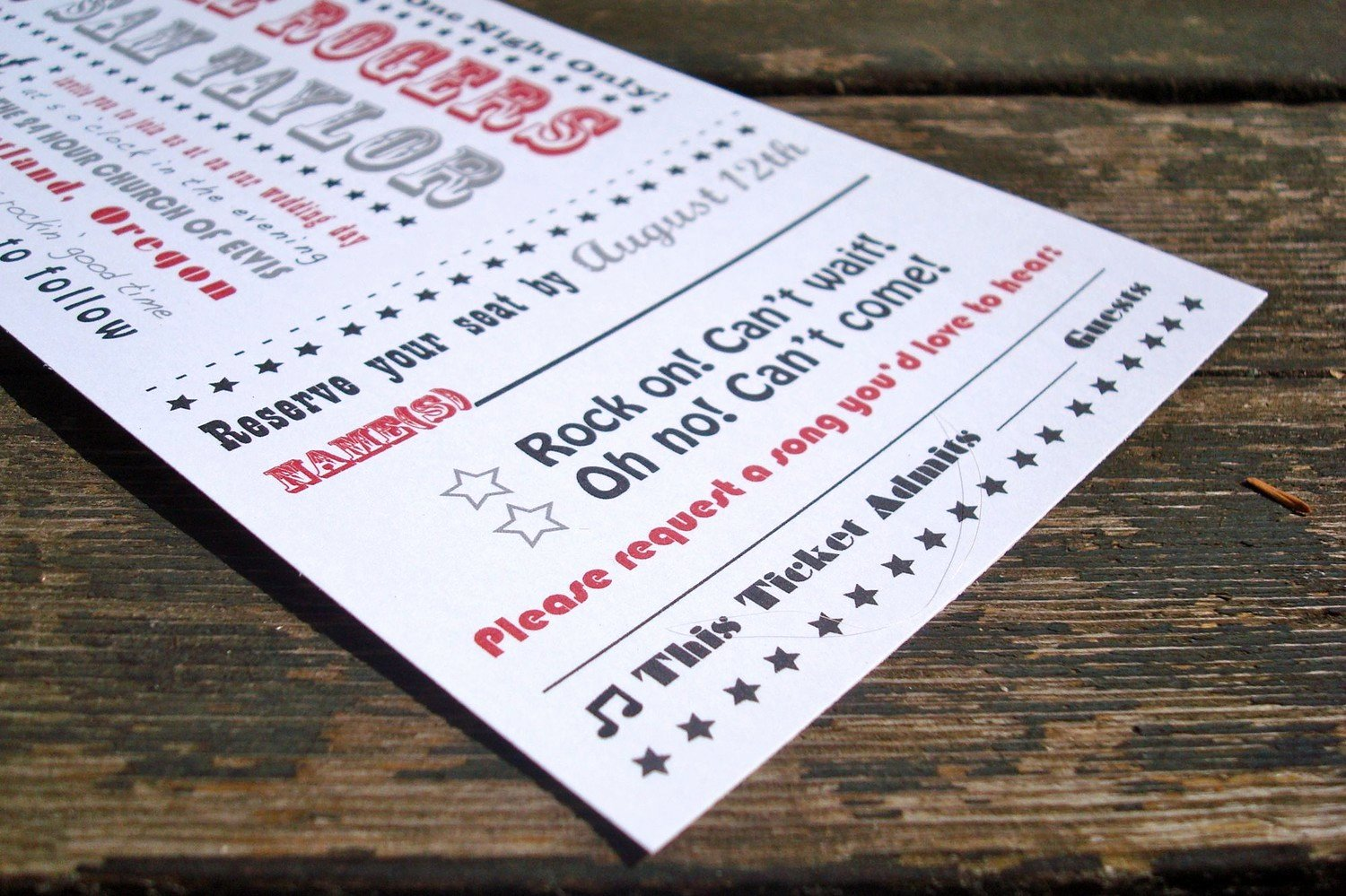 Concert Ticket Template Free Fresh Concert Ticket Invitation Templates