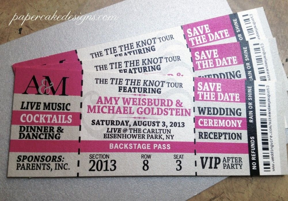 Concert Ticket Template Free Fresh Wedding event Ticket Template Printable