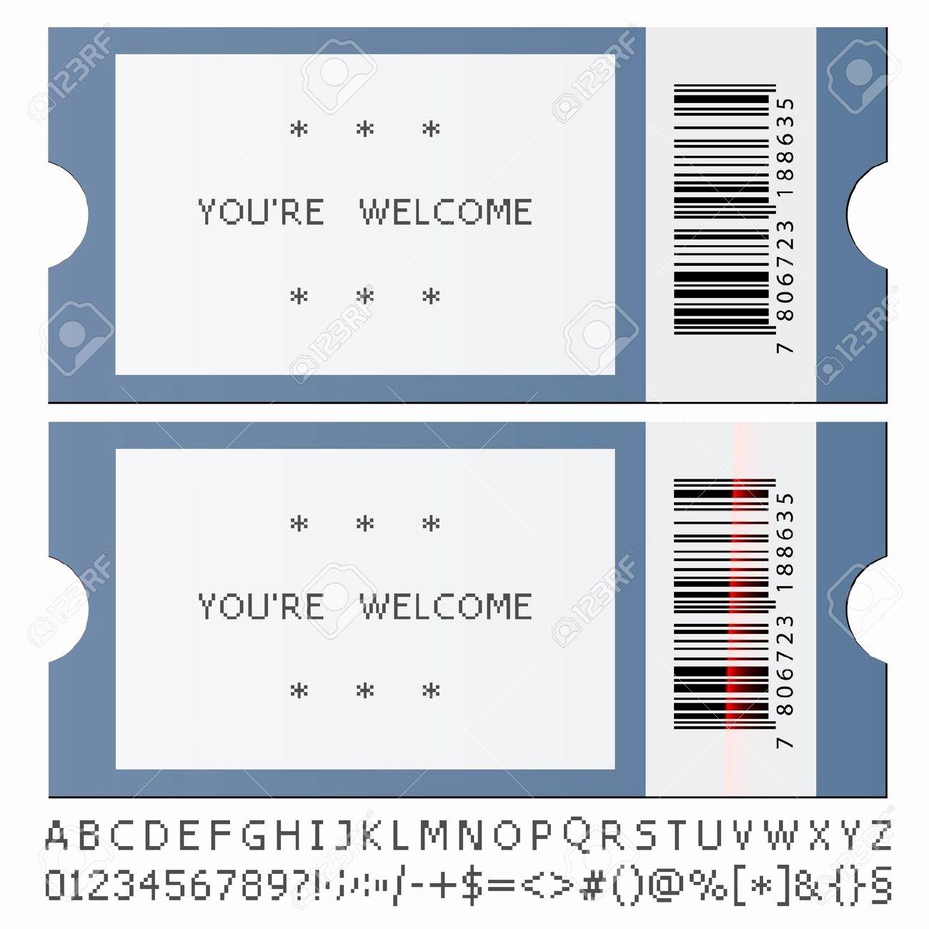 Concert Ticket Template Free Luxury Concert Ticket Template Word Sarahepps