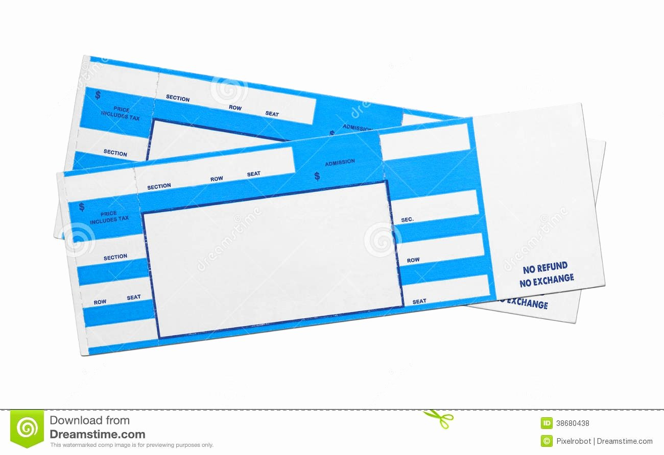 Concert Tickets Template Free Awesome Blank Concert Ticket Template Mughals