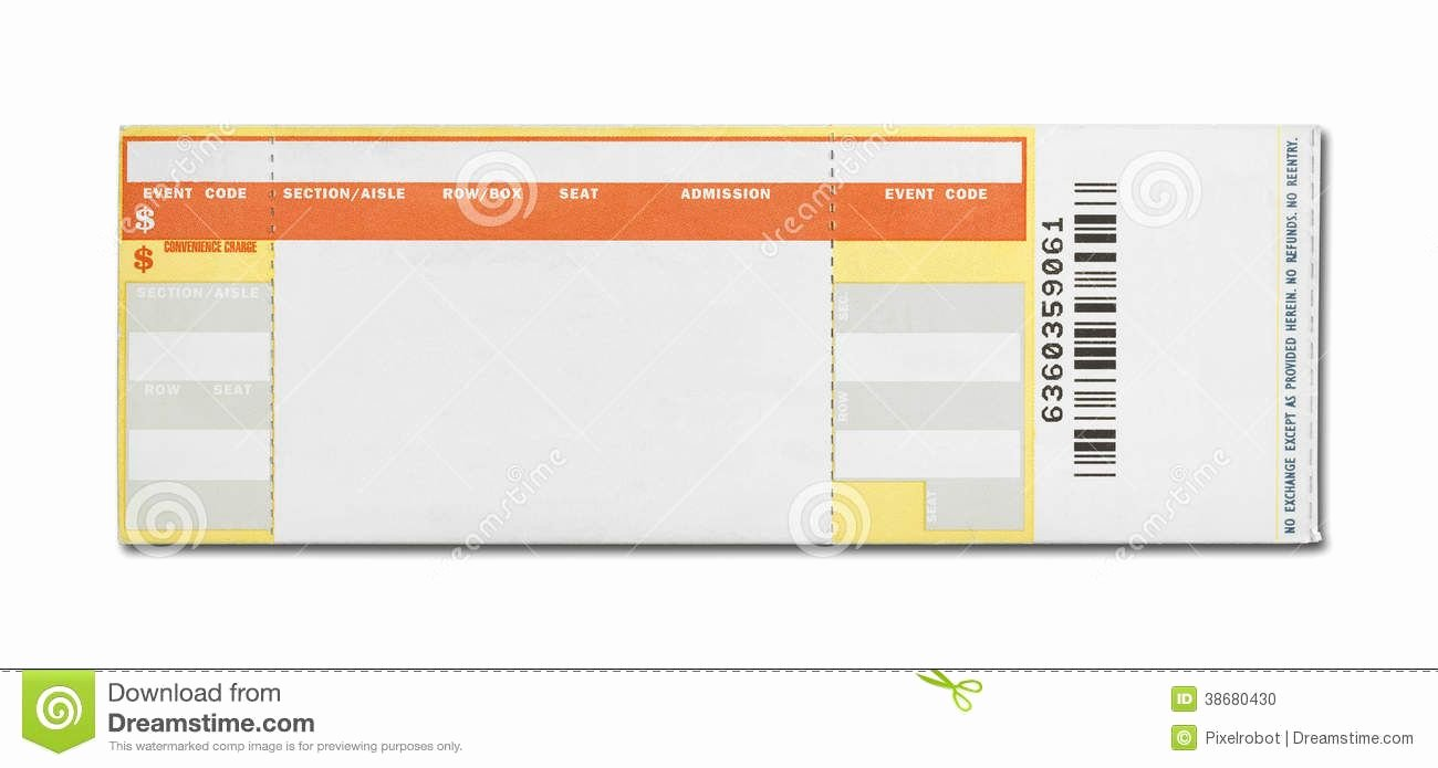 Concert Tickets Template Free Best Of 15 Awesome Ticketmaster Ticket Template Images