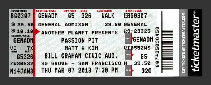 Concert Tickets Template Free Best Of Redesigning Concert Tickets Creativepro